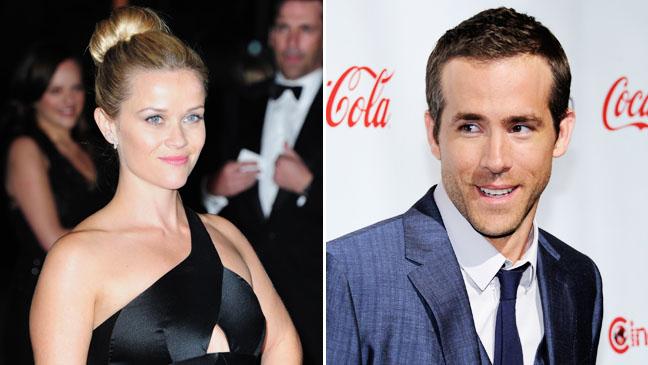 Reese Witherspoon Ryan Reynolds Split - H 2012