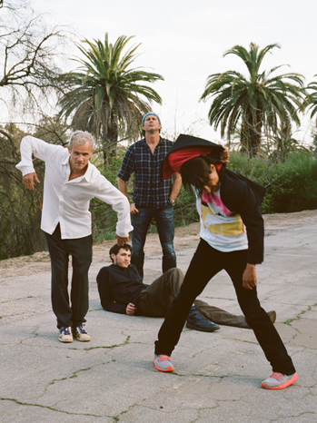 Red Hot Chili Peppers publicity 2011 P