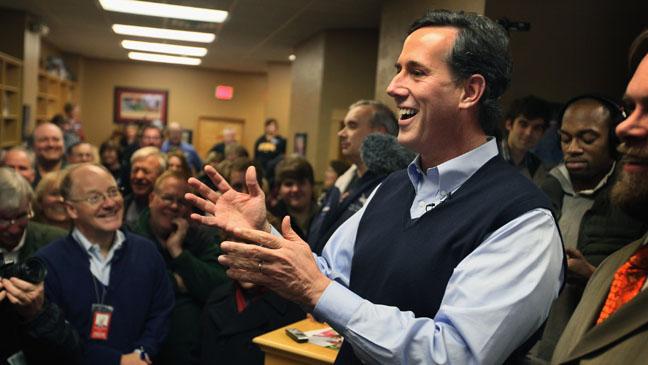 Rick Santorum Speaking - H 2012