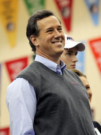 Rick Santorum Sweater Vest - P 2012