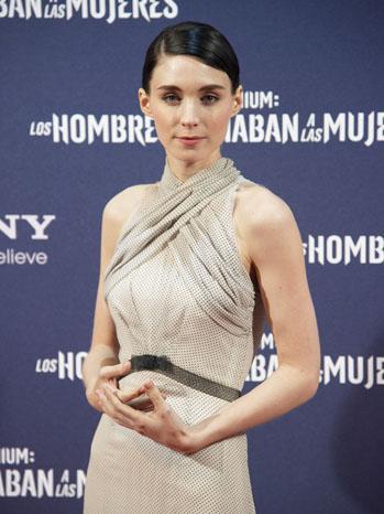 Rooney Mara Spain Premiere - P 2012