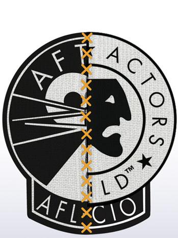 SAG AFTRA Logo - P 2012
