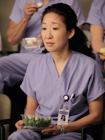 Grey's Anatomy - Sandra Oh: 1/12/12 - H