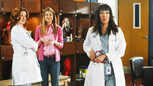 Grey's Anatomy Sandra Oh EP Feb 2 - H 2012
