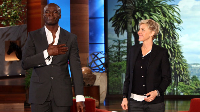 Seal Ellen DeGeneres Show - H 2012
