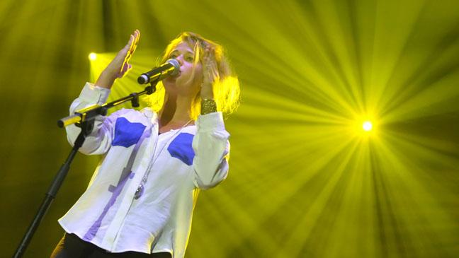 Selah Sue Performing at MIDEM Festival - H 2012