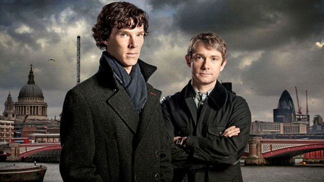 Sherlock Homes BBC Press Still - H 2012