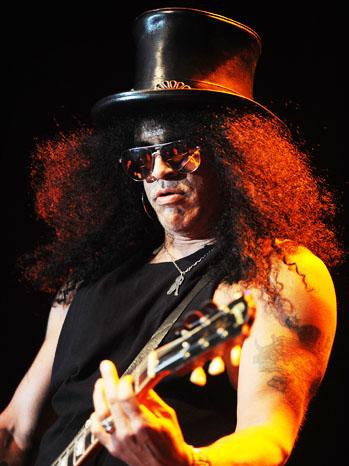 Slash Guns N Roses Performing - P 2012