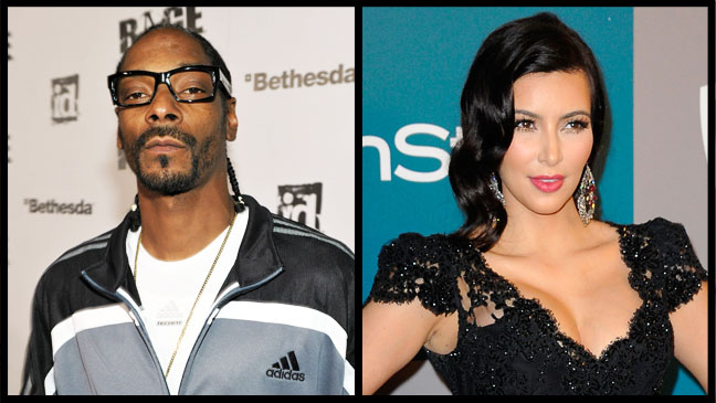 Snoop Dogg Kim Kardashian - H 2012