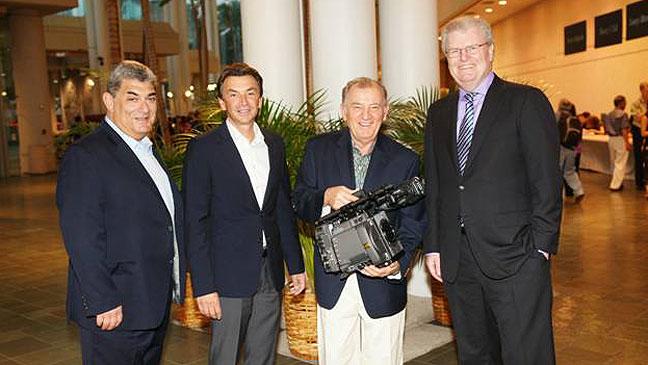 Alec Shapiro, Phil Molyneux, Otto Nemenz and Sir Howard Stringer - H 2012