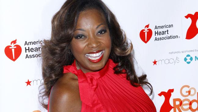 Star Jones Just A Little Heart Attack Red Carpet - H 2012
