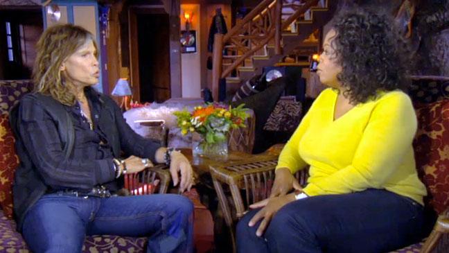 Steven Tyler Oprah Interview - H 2012