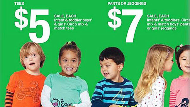Target Features Down Syndrome Child As Model Hollywood Reporter