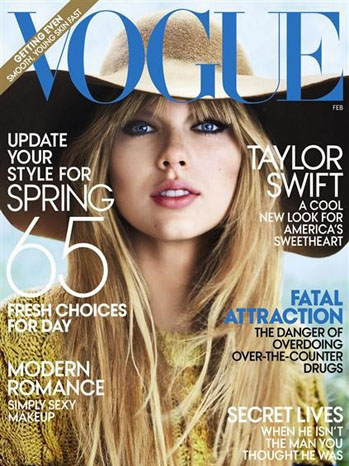 Taylor Swift Vogue Cover February 2012 - P 2012