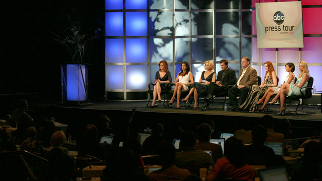 TCA Desperate Housewives Panel Wide Shot - H 2012