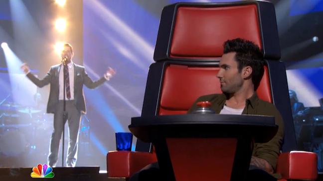 Adam Levine The Voice 2012