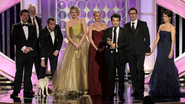 69th Golden Globes Best Comdey/Musical The Artist - H 2012