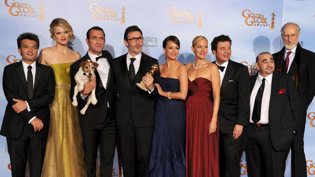 The Artist Cast and Crew Golden Globe Awards - H 2012