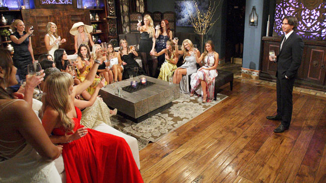 The Bachelor EP1601 Premiere Cast Still - H 2012