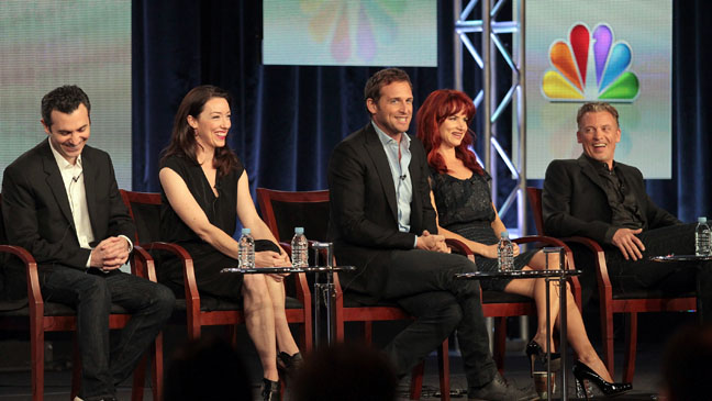 The Firm NBC TCA Panel - H 2012
