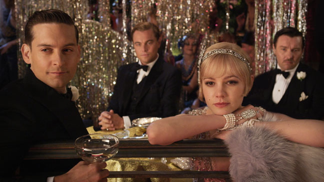 The Great Gatsby Toby Maguire Leonardo DiCaprio Carey Mulligan - H 2012