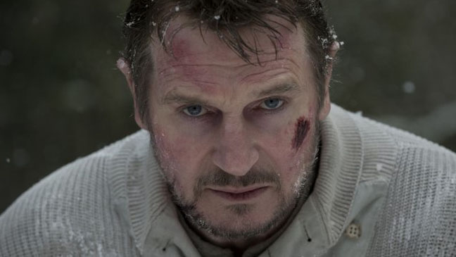 The Grey Liam Neeson Still - H 2012