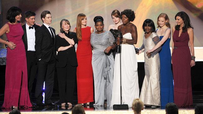 The Help Cast SAG Awards - H 2012