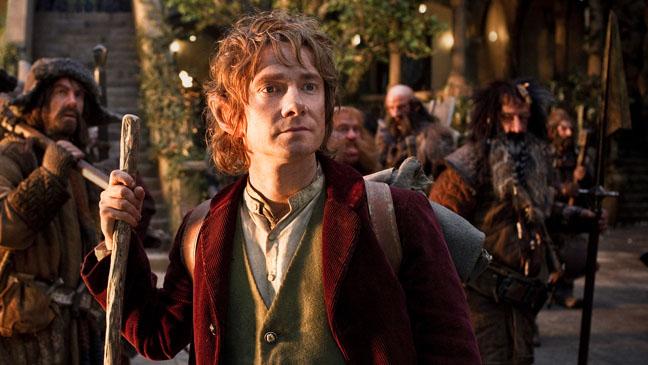 The Hobbit Martin Freeman Bilbo Baggins Still - H 2012