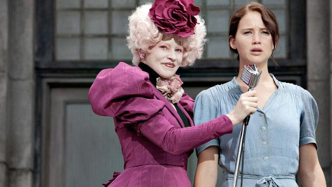 Elizabeth Banks and Jennifer Lawrence