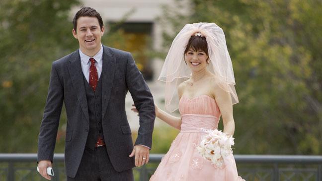 The Vow Channing Tatum Rachel McAdams Wedding - H 2012