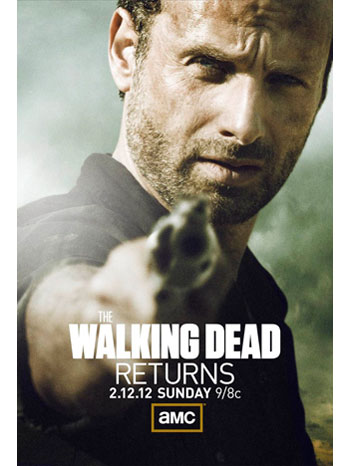The Walking Dead Season 2B Poster - P 2012