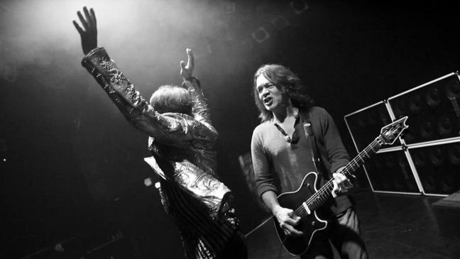 Van Halen rehearsal screen grab L