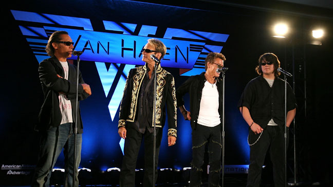 Van Halen Press Conference - H 2011