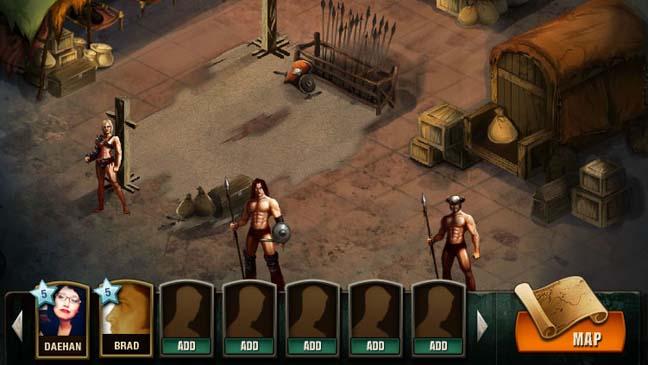 Spartacus facebook game Vengeance