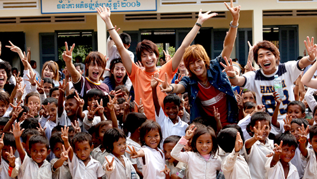 We Can't Change the World But We Wanna Build a School in Cambodia