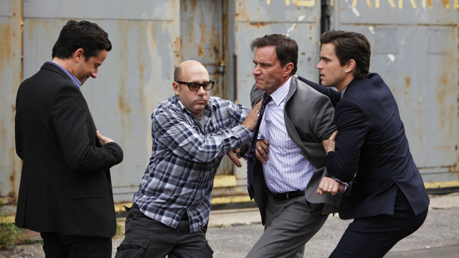 White Collar Ep 313 Checkmate Fight - H 2012
