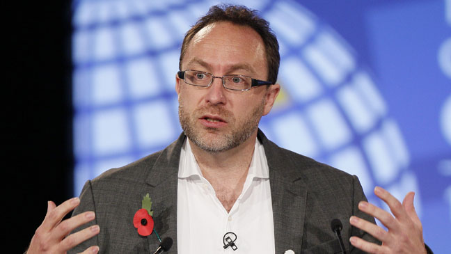 Wikipedia Founder Jimmy Wales - H 2012
