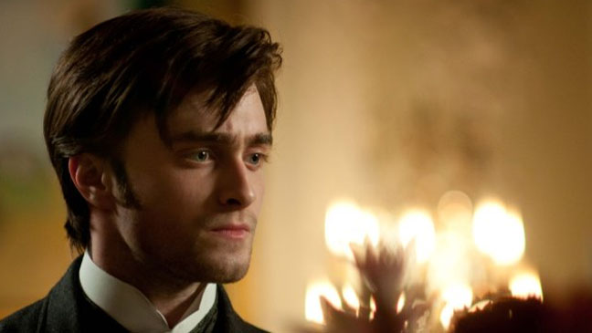 Woman in Black Daniel Radcliffe Candle light - H 2012