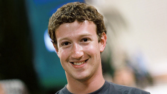 Mark Zuckerberg, CEO of Facebook