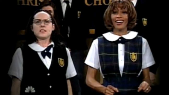 Whitney Houston on SNL