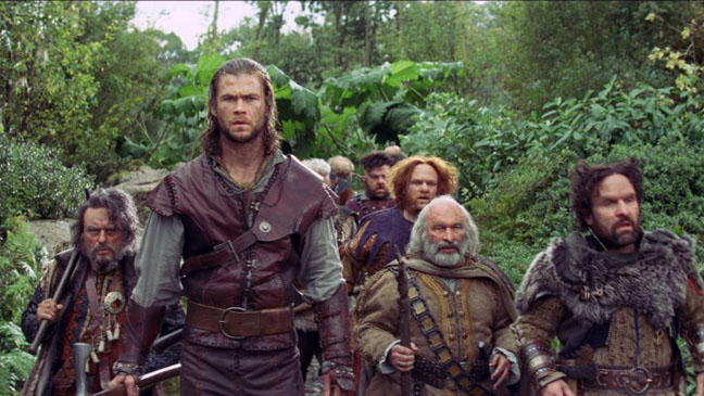 The Huntsman and the Dwarves
