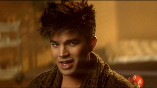 Adam Lambert BTIKM video screen grab L
