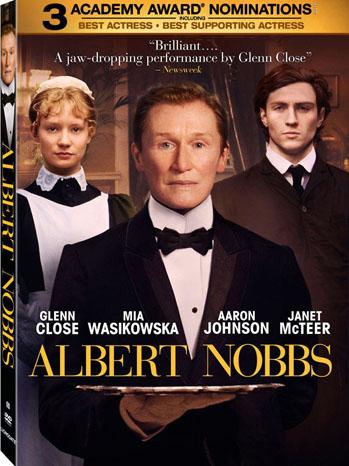 Albert Nobbs Blu-Ray Cover Art - P 2012