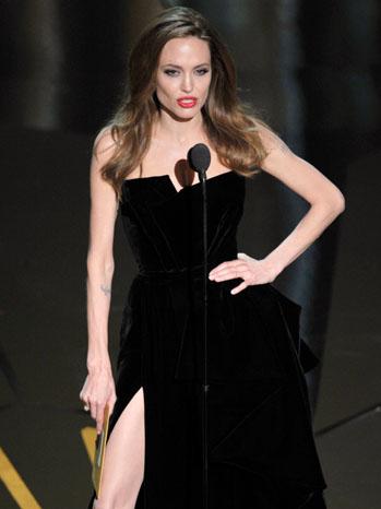 Angelina Jolie Right Leg Five - P 2012