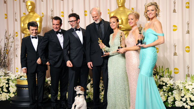 Artist Best Picture Cast Oscars - H 2012