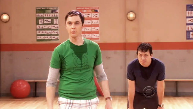 Big Bang Theory John Ross Bowie Jim Parsons - H 2012