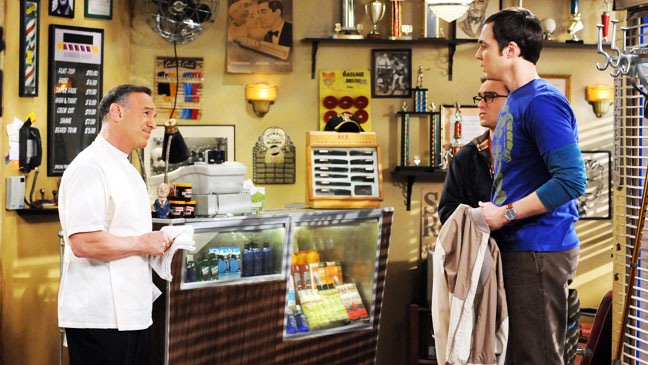 Big Bang Theory Jim Parsons Sheldon at Barber - H 2012