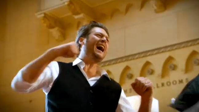 Blake Shelton The Voice Super Bowl Ad - H 2012