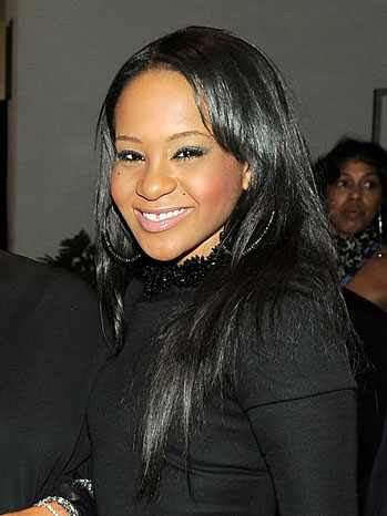 Bobbi Kristina Brown Whitney Houston Daughter - P 2012