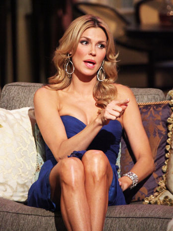Brandi Glanville Real Housewives of Beverly Hills Reunion - P 2012